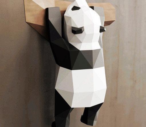 panda papercraft